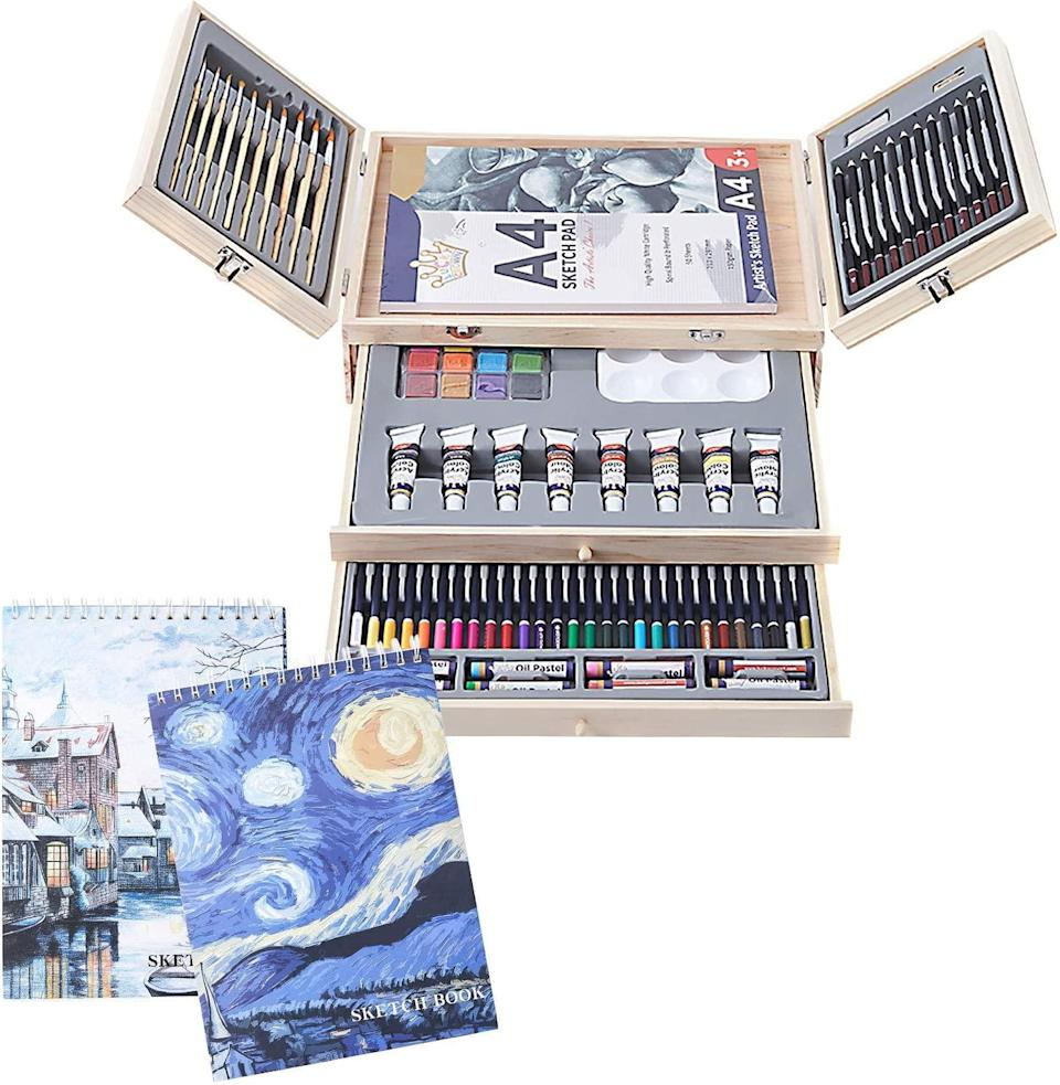 Cool bank professional art set, gifts for wife