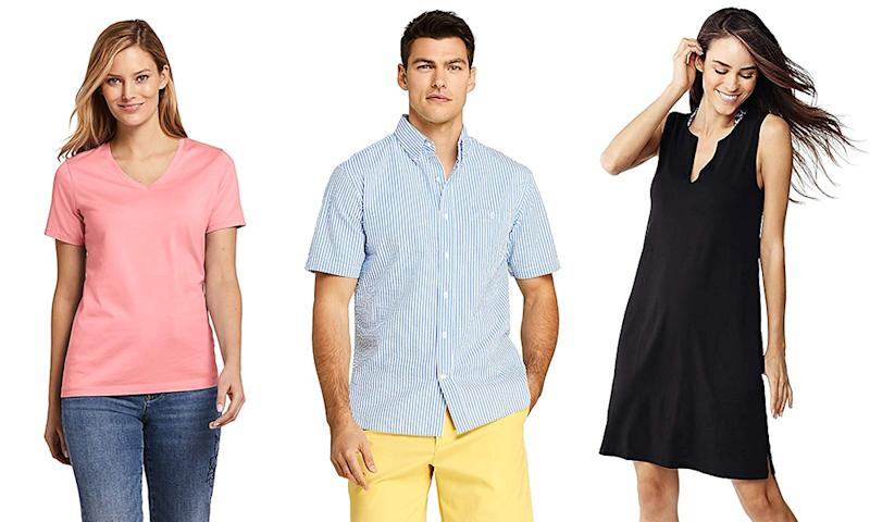 09280d30 Amazon is having a huge sale on Lands' End clothing, starting at $10