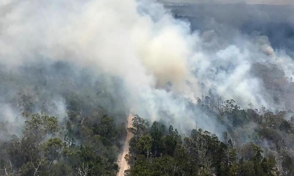 <span>Photograph: QLD Fire and Emergency SE/AFP/Getty Images</span>