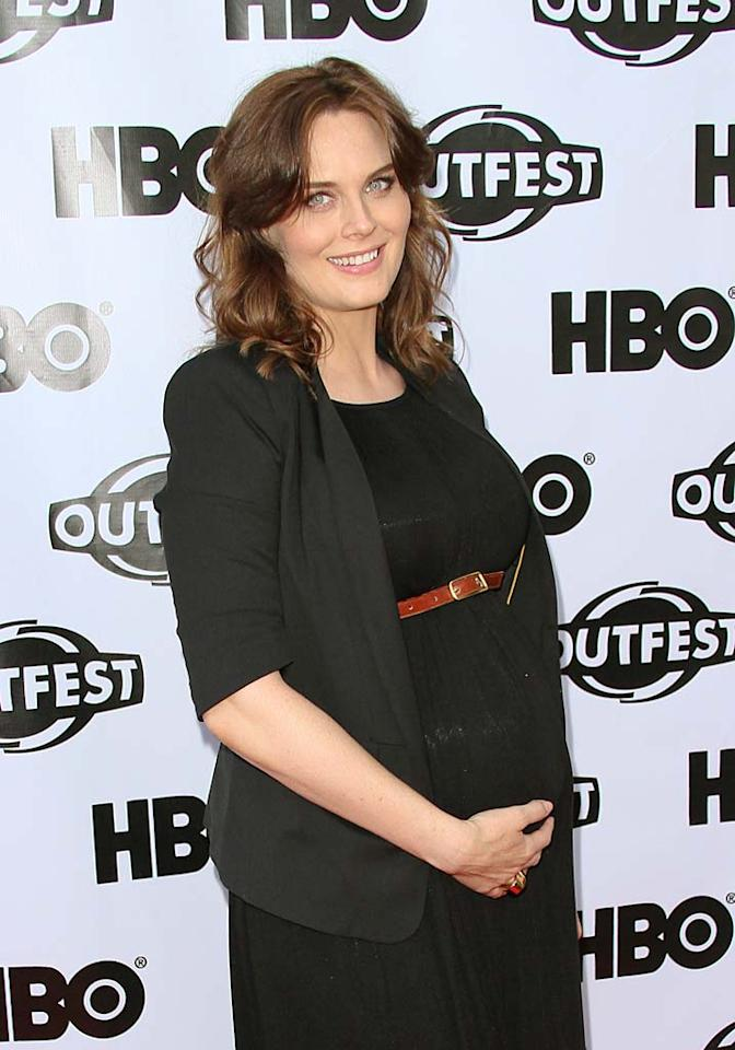 "Emily Deschanel (""Bones"") turns 35.  Paul Archuleta/FilmMagic.com - July 17, 2011"