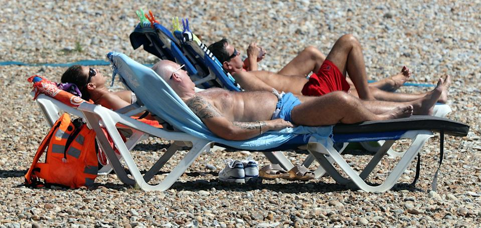 <em>The heatwave continued into the weekend, with highs of 30C-31C expected on Saturday (Picture: PA)</em>