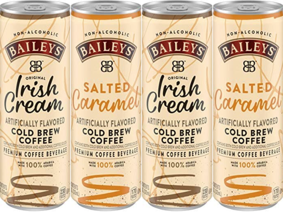 Baileys Just Released Cold Brew Coffee Cans In Two Flavors