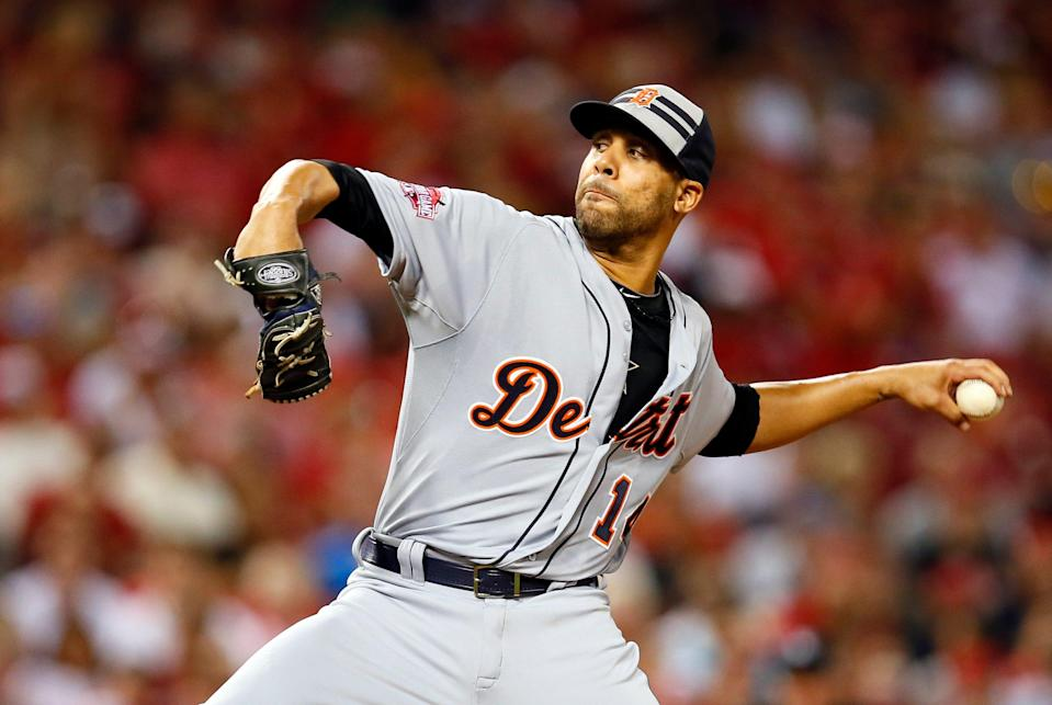 The Tigers traded David Price to the Blue Jays at the 2015 trade deadline.