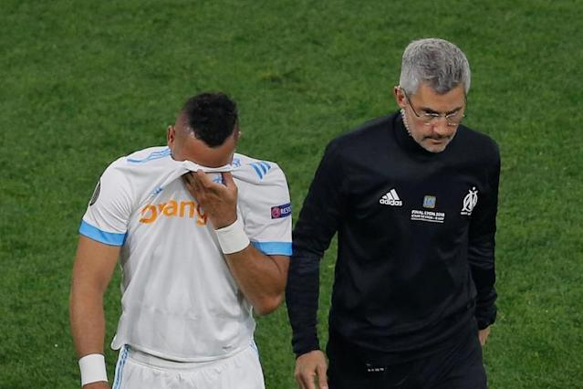Dimitri Payet dealt World Cup 2018 blow as France star limps out of Europa League Final in tears