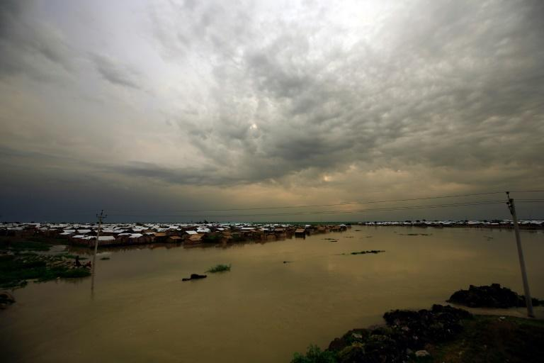 Over 288,000 residents and refugees have been affected by the heavy rains and flash floods in Sudan (AFP/ASHRAF SHAZLY)