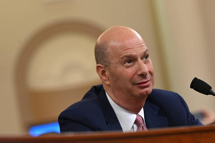 Gordon Sondland was removed from his position as ambassador to the European Union on Feb. 7, 2020. He testified during the first impeachment inquiry of President Donald Trump.