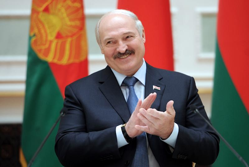 Known for his folksy charisma and eccentric style, Belarus' President Alexander Lukashenko seems to have recently edged his nation in from the cold, balancing off long-standing ally Russia and the West over the crisis in neighbouring Ukraine (AFP Photo/Sergei Gapon)