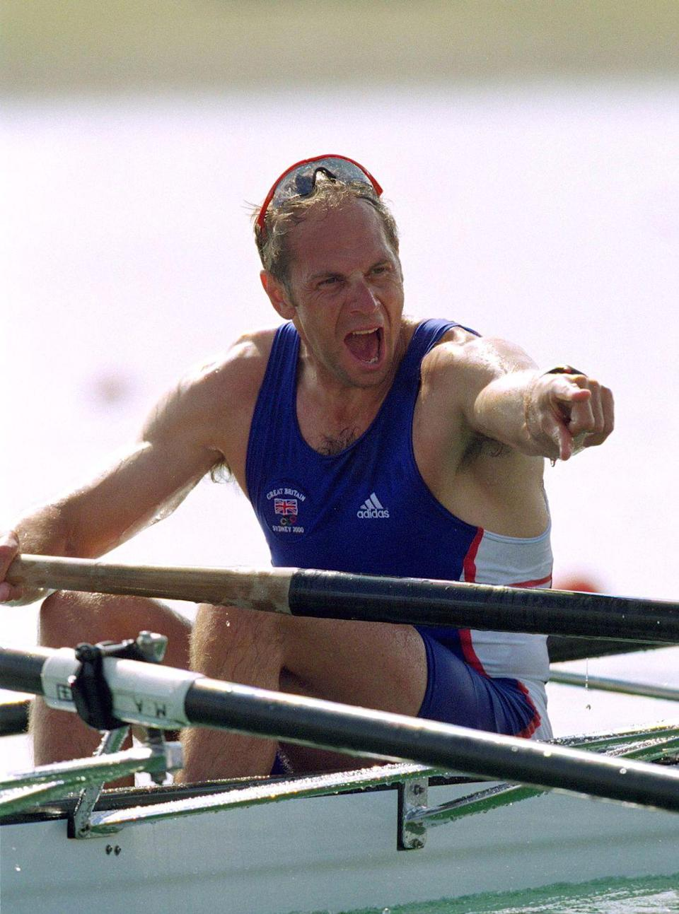 """<p>After winning his fourth gold medal in '96, British rower Steve Redgrave said, """"Anybody who sees me in a boat has my permission to shoot me."""" Well, he got back in a boat, winning his fifth gold in 2000 in a row by a matter of feet against Italy. </p>"""