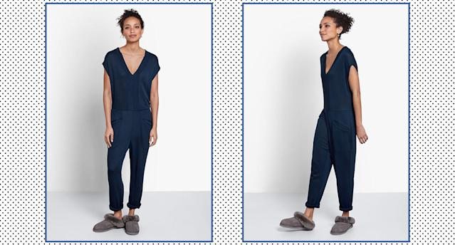 This onesie proves that you can look chic and feel comfortable. (Hush)