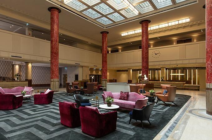 The central lobby area. Photo: Primus Hotel Sydney