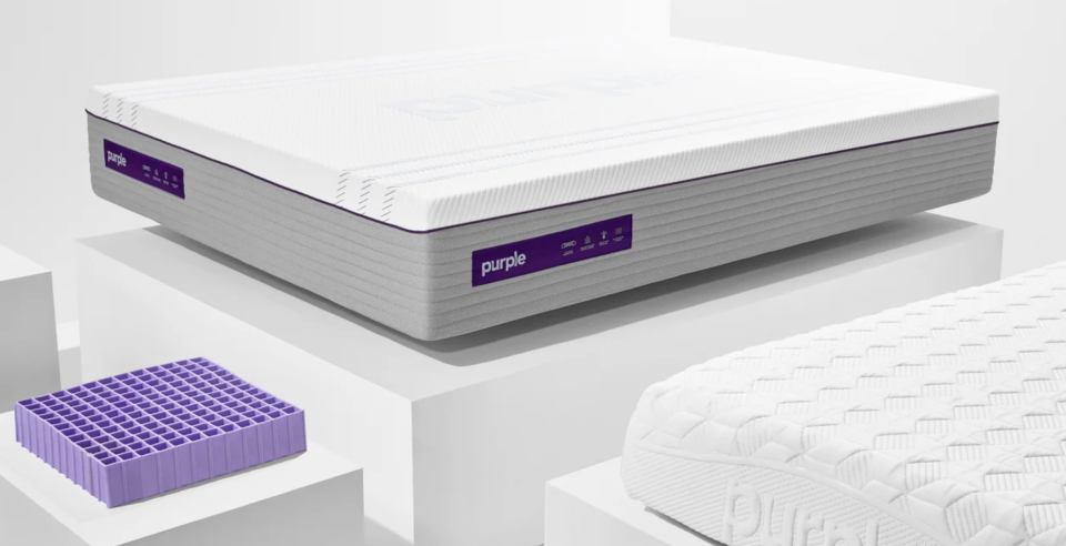 The iconic Purple grid has over 30 patents. (Photo: Purple)