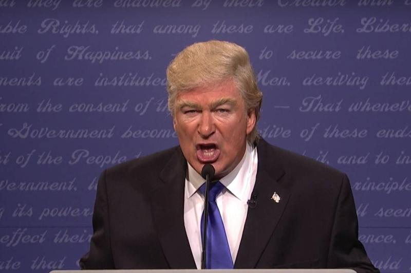 "Alec Baldwin as Donald Trump on 'SNL' had a lot of thoughts about the ""rigged"" election, and we're dying"