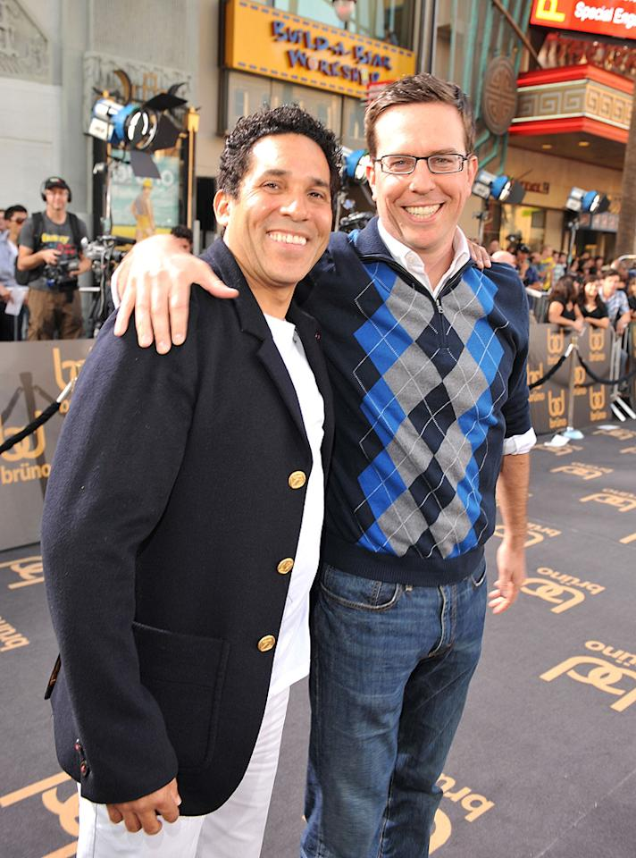 "<a href=""http://movies.yahoo.com/movie/contributor/1804518221"">Oscar Nunez</a> and <a href=""http://movies.yahoo.com/movie/contributor/1809704692"">Ed Helms</a> at the Los Angeles premiere of <a href=""http://movies.yahoo.com/movie/1809922951/info"">Bruno</a> - 06/25/2009"