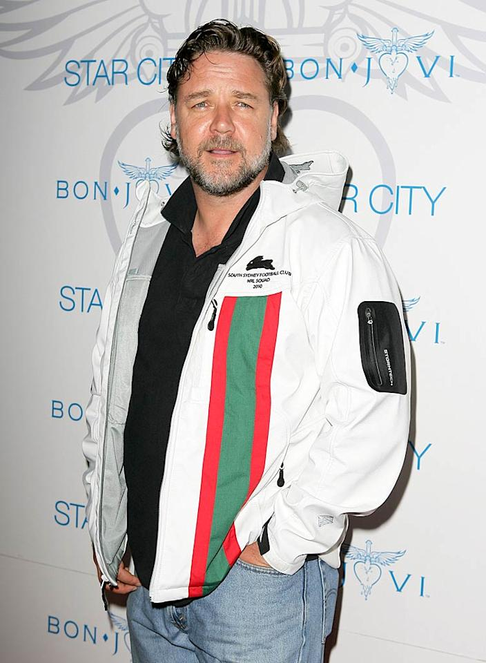 "April 7: Russell Crowe turns 47 Don Arnold/<a href=""http://www.wireimage.com"" target=""new"">WireImage.com</a> - December 15, 2010"