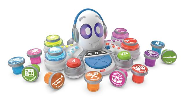The Fisher-Price Think and Learn Rocktopus is a great way to teach your kids the basics of making music. Just make sure you've got a solid pair of headphones.