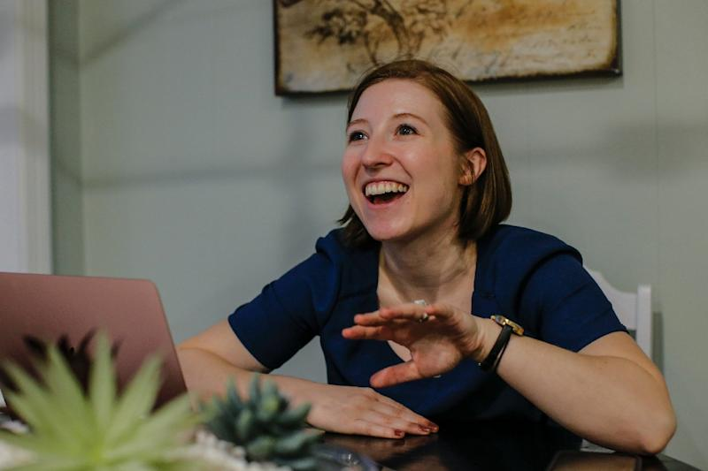 Lindsay Brown, a 29-year-old Republican web developer, is contesting, as a feminist and a progressive, fifth-term incumbent Congressman Leonard Lance in her New Jersey district