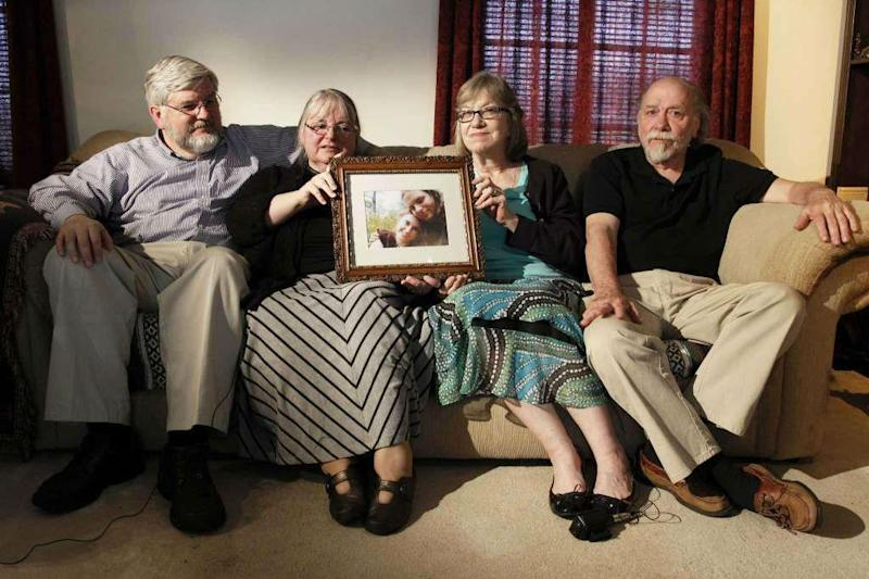 The families of Mr Boyle and Ms Coleman campaigned for their release (AP)