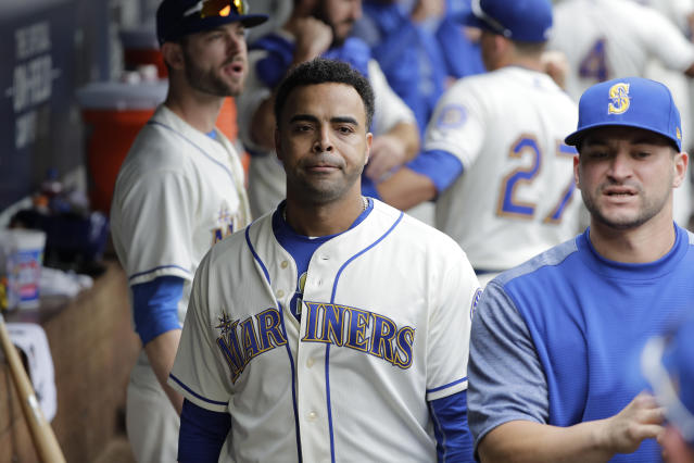 Nelson Cruz may be a 38-year-old DH, but he has earned this spot. (AP)
