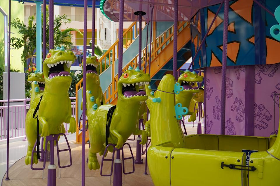 Nickelodeon Universe opened its doors with the first phase of American Dream. (Photo: Stephanie Asymkos/Yahoo Finance)