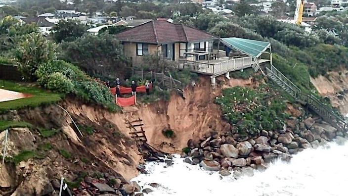 Locals fear the waves have caused structural damage to their homes