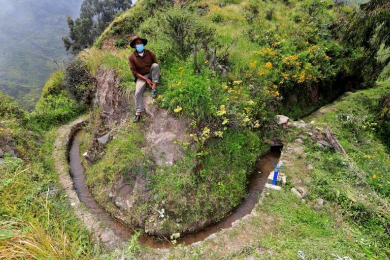 Known locally as amunas, the water-retention system is thought to have been devised by ancient people who lived here before even the Incas