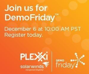 SolarWinds and Plexxi to Present Real-World DevOps Scenario and Demonstration Driven by SDN