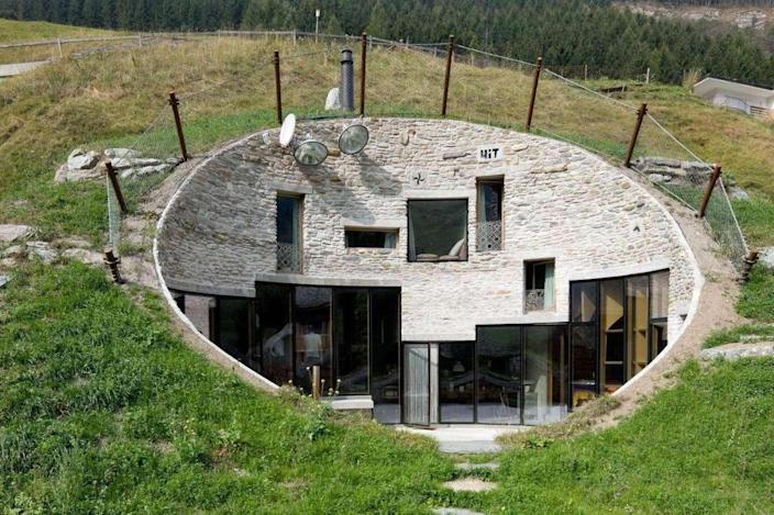 One of the stunning houses featured on Netflix's