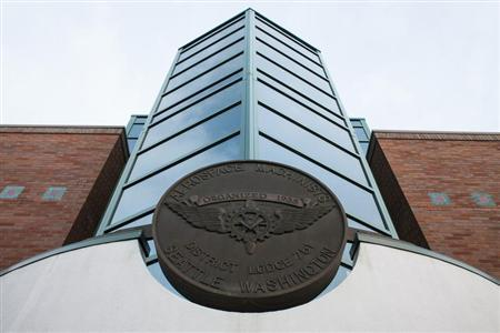 The International Association of Machinists and Aerospace Workers District Lodge 751 headquarters is pictured in Seattle