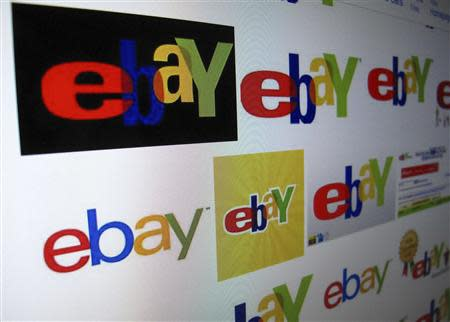 The results of a Google image search on Ebay are shown on a monitor in this photo illustration in Encinitas, California, in this April 16, 2013, file photo. REUTERS/Mike Blake/Files