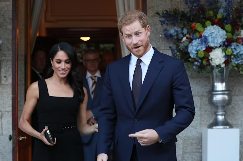 The Duke and Duchess of Sussex visited Dublin earlier this week. (PA Wire/PA Images)