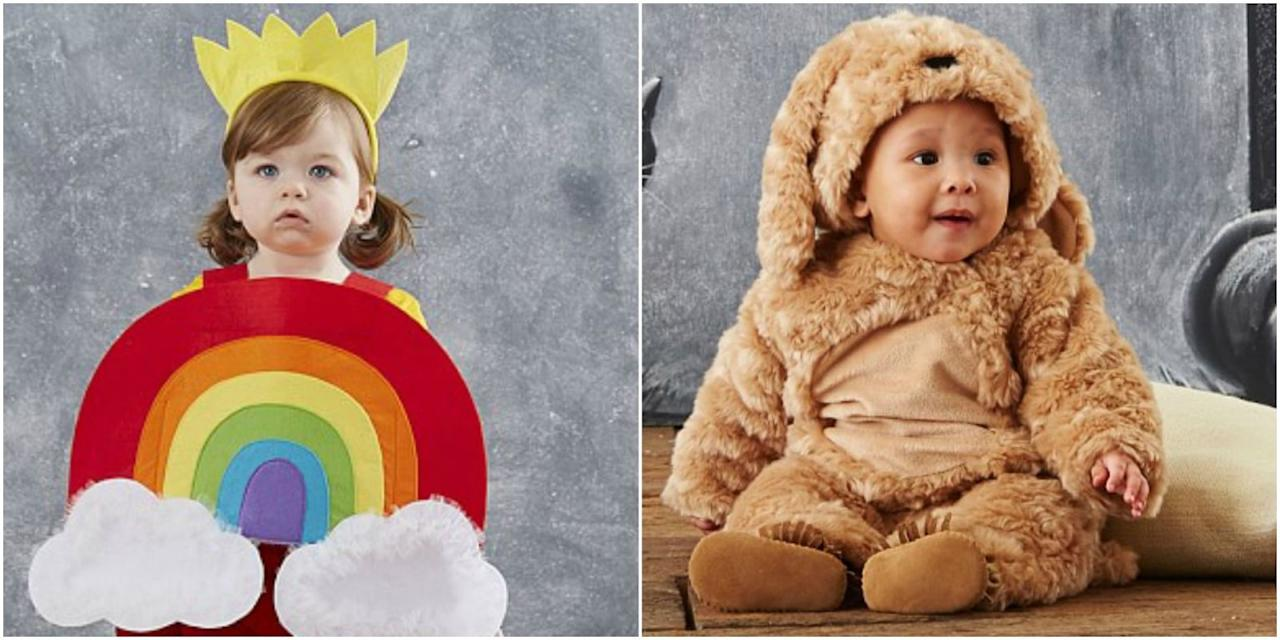 pottery barn kids' new line of halloween baby costumes is the cutest