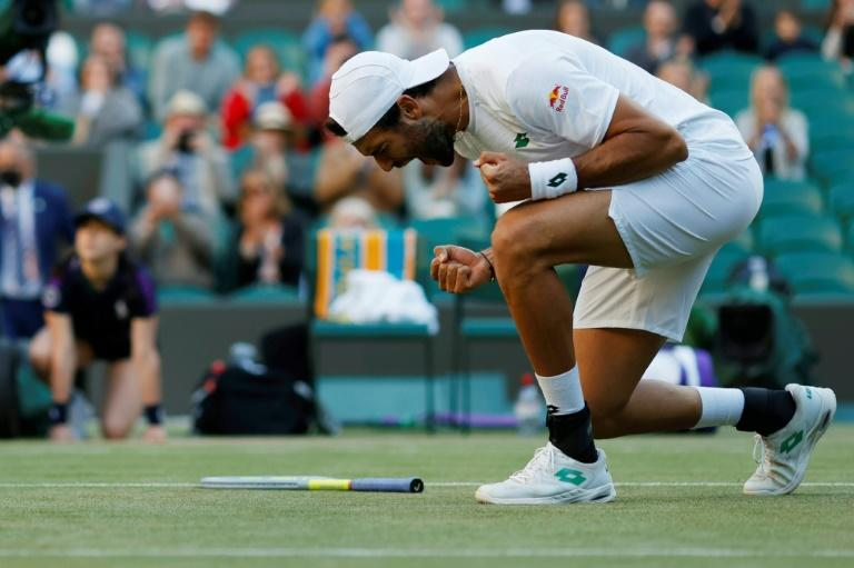 Matteo Berrettini became only the second Italian to reach the Wimbledon semi-finals when he beat close friend Felix Auger-Aliassime in four sets