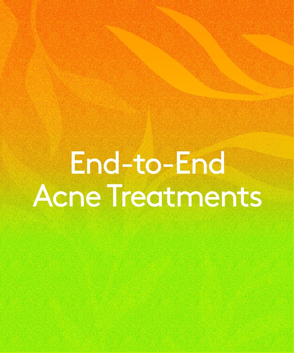 """<h2>End-to-End Acne Treatments<br></h2> <br>Googling <a href=""""https://www.refinery29.com/en-us/2020/04/9647863/skin-care-acne-during-quarantine"""" rel=""""nofollow noopener"""" target=""""_blank"""" data-ylk=""""slk:&quot;why is my skin breaking out&quot;"""" class=""""link rapid-noclick-resp"""">""""why is my skin breaking out""""</a> is a whole pandemic mood, so much so that the question has seen a 4,200% spike in searches in the past 90 days. It's fair to point fingers at <a href=""""https://www.refinery29.com/en-us/2020/07/9924407/maskne-help-acne-from-face-mask"""" rel=""""nofollow noopener"""" target=""""_blank"""" data-ylk=""""slk:maskne"""" class=""""link rapid-noclick-resp"""">maskne</a> — acne caused by our masks' humidity and occlusion — but it could be lifestyle changes, too. Nowadays, you might be eating differently or <a href=""""https://www.refinery29.com/en-us/2020/04/9738566/cant-sleep-during-quarantine"""" rel=""""nofollow noopener"""" target=""""_blank"""" data-ylk=""""slk:sleeping poorly"""" class=""""link rapid-noclick-resp"""">sleeping poorly</a>, both of which can impact your complexion, says Dr. Beach.<br> <br>Fortunately, we're seeing more products that are designed to support <a href=""""https://www.refinery29.com/en-us/how-to-get-rid-of-acne"""" rel=""""nofollow noopener"""" target=""""_blank"""" data-ylk=""""slk:acne-prone skin"""" class=""""link rapid-noclick-resp"""">acne-prone skin</a> on the daily, rather than attacking every bump that pops up with overzealous spot treatments. """"With this <a href=""""https://www.refinery29.com/en-us/2020/03/9538846/work-from-home-coronavirus-tips"""" rel=""""nofollow noopener"""" target=""""_blank"""" data-ylk=""""slk:work-from-home shift"""" class=""""link rapid-noclick-resp"""">work-from-home shift</a>, people are demanding more from their products,"""" says Dr. Beach. """"They want something that's going to not only treat the lesion at hand but also enhance and prevent."""" That means more cleansers that won't strip your skin, creams that heal without clogging, preventative treatments tailor-made for oily types, and hopefully less panicked Googling, too."""