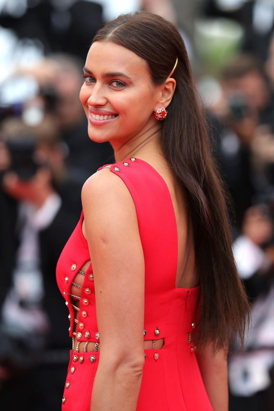 "<p><strong>Born</strong>: Irina Shaykhlislamov</p><p>Irina Shayk's real last name is Shaykhlislamov, as <em><a href=""https://observer.com/2010/09/hot-supermodel-shayks-perry-street-condo/"" rel=""nofollow noopener"" target=""_blank"" data-ylk=""slk:Observer"" class=""link rapid-noclick-resp"">Observer</a></em> reported after catching her legal name on the deed of her Manhattan apartment. </p>"