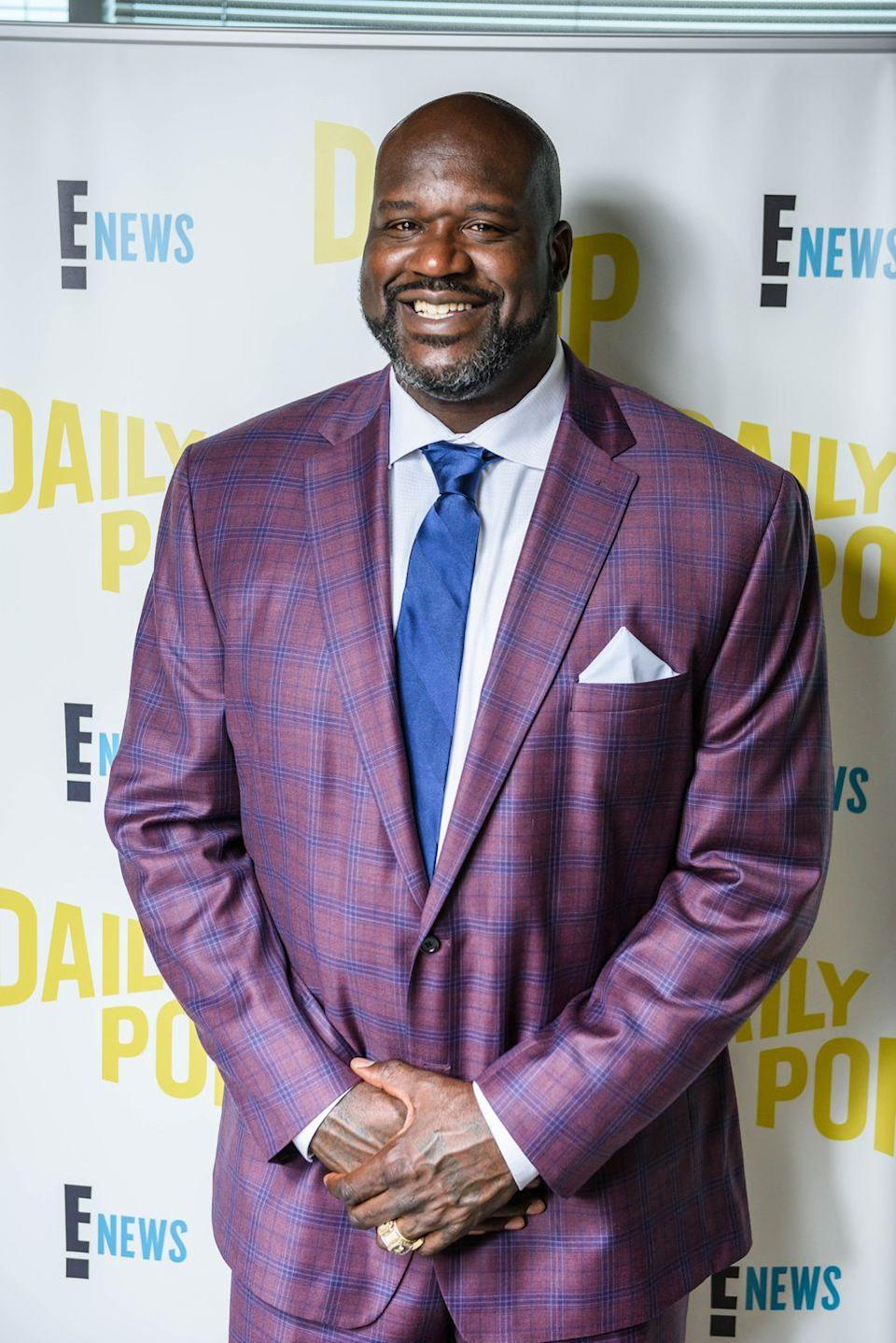 """<p>While studying business and racking up points on the court, Shaquille O'Neal pledged <a href=""""https://oppf.org/about-omega/notable-omegas/"""" rel=""""nofollow noopener"""" target=""""_blank"""" data-ylk=""""slk:Omega Psi Phi"""" class=""""link rapid-noclick-resp"""">Omega Psi Phi</a> at Louisiana State University. The famous basketball player was a student at the school until 1992, when he was drafted into the NBA. </p>"""