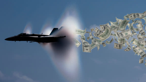 Column of the Day: The Scandalous US Defense Budget