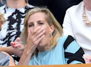 <p>Sophie, the Countess of Wessex, went to one of the earlier days of play this year, and she clearly couldn't hide her emotion about the match. </p>