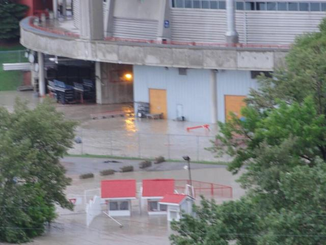 Calgary Saddledome affected by major flooding in Alberta (Photos)