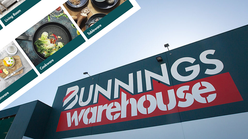 Bunnings has launched its online marketplace. Images: Getty, Bunnings