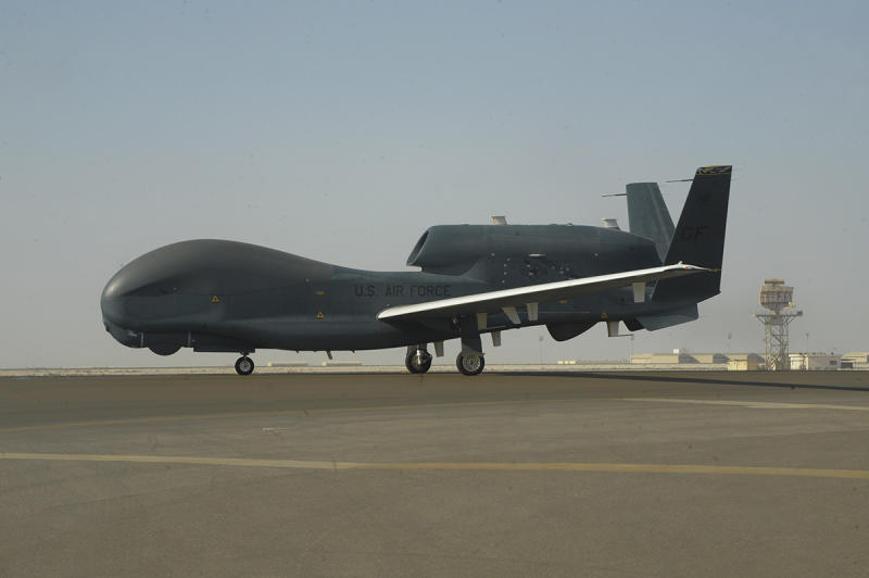 'Rank doesn't matter, only ability:' First all-enlisted crew operates RQ-4 Global Hawk in theater