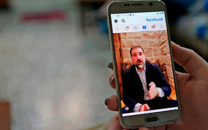 Rami Makhlouf, Syria's top tycoon, has begun publicly airing his grievances, revealing a power struggle within the ruling family as it tries to cement its power after nine years of war - AFP