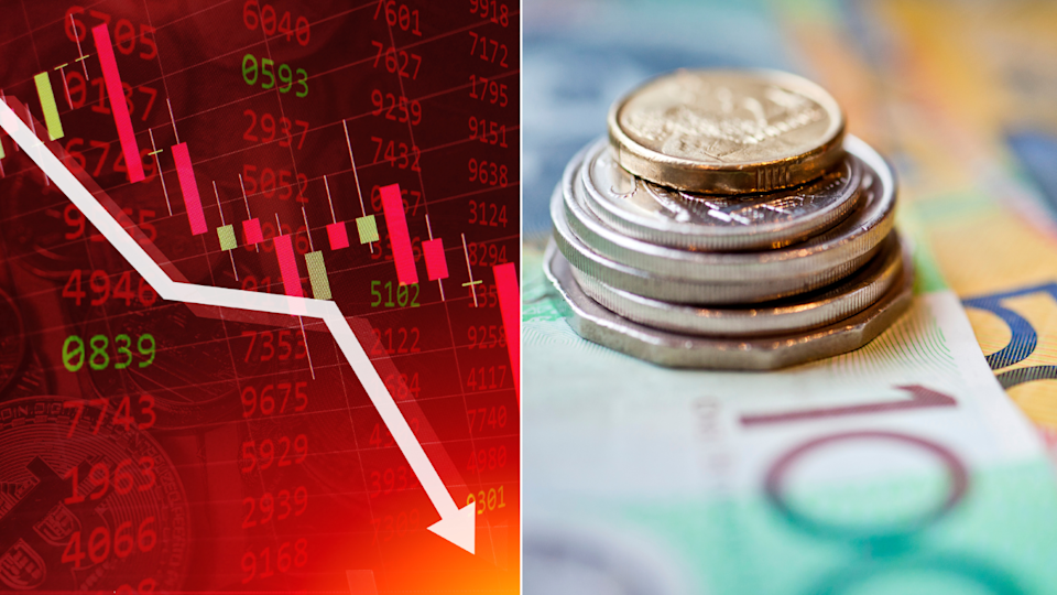 The Australian share market is expected to sink again on Tuesday following yesterday's bloodbath. Source: Getty