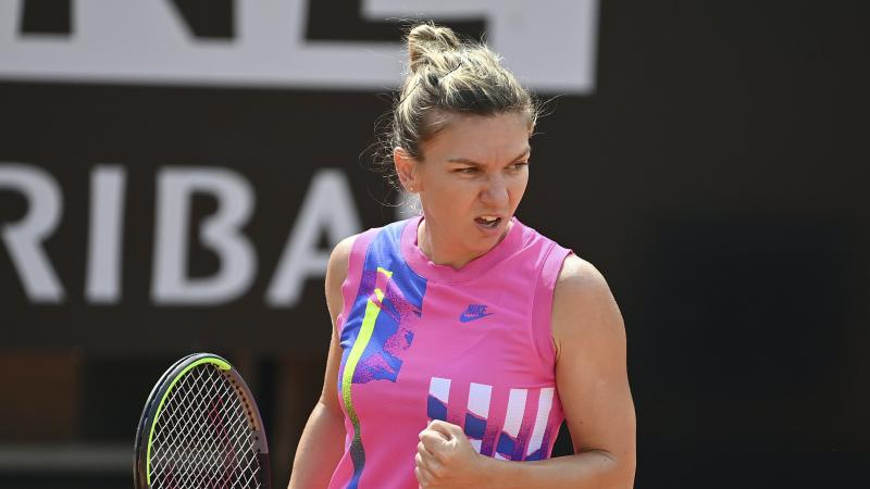 Defending Champion Pliskova Rolls into Rome Final as Halep Awaits