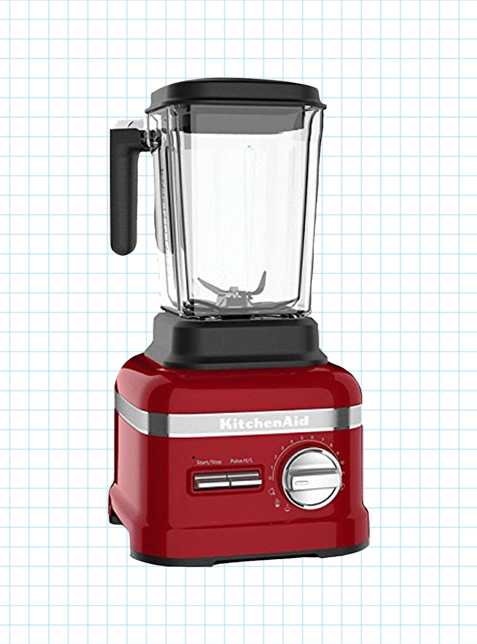 "<p><strong>KitchenAid</strong></p><p>amazon.com</p><p><strong>$449.95</strong></p><p><a href=""https://www.amazon.com/d/Countertop-Blenders/KitchenAid-KSB8270CA-Thermal-Control-Blender/B06XSHRWX5?tag=syn-yahoo-20&ascsubtag=%5Bartid%7C10055.g.4864%5Bsrc%7Cyahoo-us"" rel=""nofollow noopener"" target=""_blank"" data-ylk=""slk:Shop Now"" class=""link rapid-noclick-resp"">Shop Now</a></p><p>KitchenAid's sleek and beautifully-designed Pro Line blender is a true dream appliance. Yes it's pricey, but this <strong>h</strong><strong>igh-performance model excelled at every test</strong> and comes with an impressive 10-year warranty. The controls feature an on/off switch, pulse switch, and dial that can be set from zero to 11- plus pre-programmed settings for soup, smoothies, and juice. The blades, jar and lid and removable handle grip are all dishwasher safe.</p><p><strong>Cons</strong>: Even more pricey than the benchmark Vitamix. </p>"