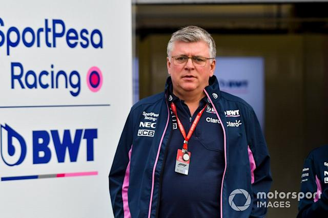 """Otmar Szafnauer, Team Principal e CEO, Racing Point <span class=""""copyright"""">Jerry Andre / Motorsport Images</span>"""