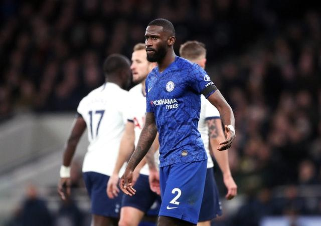 Antonio Rudiger says he was racially abused (Nick Potts/PA)