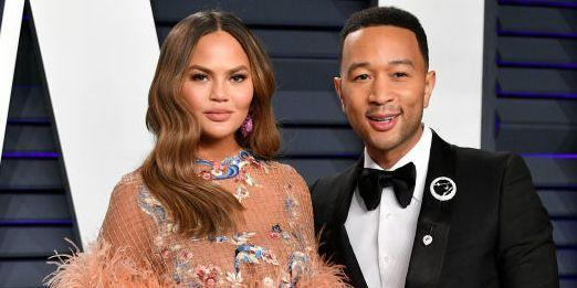 """Chrissy Teigen Says She and John Legend Are """"Quiet"""" but """"Okay"""" After Baby Loss"""