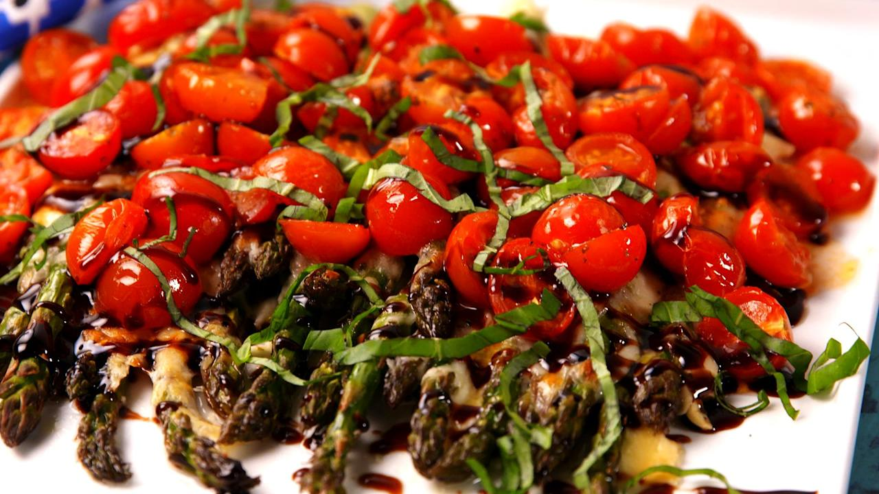 "<p><a href=""/cooking/g2668/spring-asparagus-dishes/"">Asparagus season</a> is finally here! For the next few months, we'll be subbing it out for all the veggies we need a break from. Take it out on the grill, turn it into the base for a caprese salad, or ditch romaine and use it in a Caesar. And since you're already making something healthy, balance it out with one of our favorite <a href=""https://www.delish.com/easy-spring-desserts/"" target=""_blank"">spring desserts</a>.</p>"