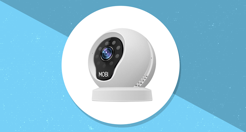 MobiCam Wireless IP WiFi Security Camera. (Photo: Walmart/Yahoo Lifestyle)