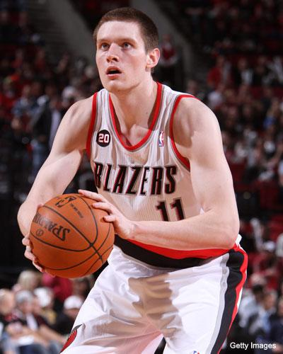 Luke Babbitt went all the way to China for some lockout run